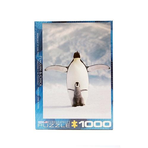 1000-piece Penguin Puzzle