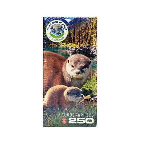 250-piece Otter Puzzle