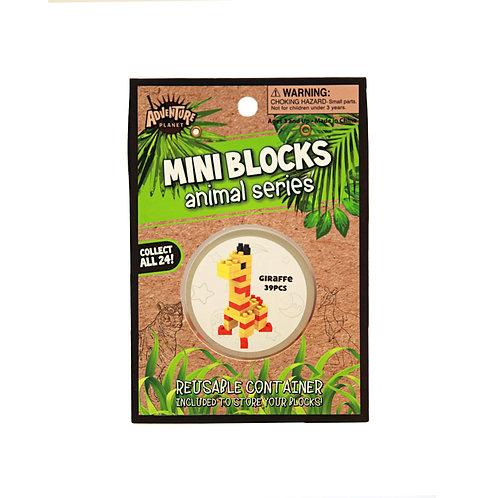 Mini Blocks Giraffe Puzzle