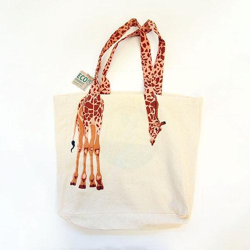 Reusable Giraffe Tote