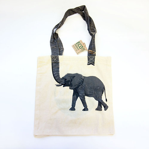 Reusable Elephant Tote