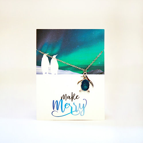 Greeting Card with Necklace