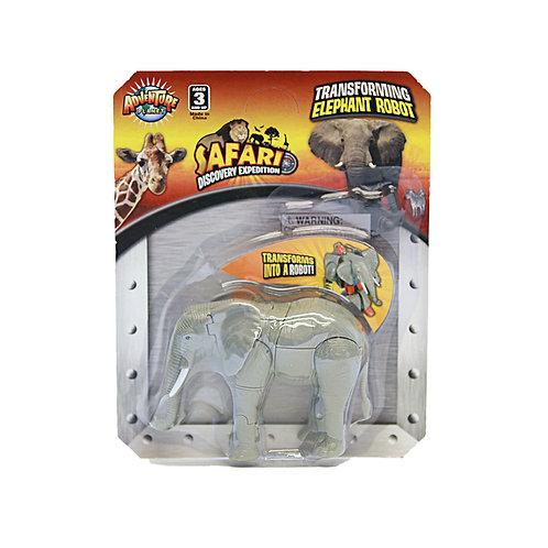 Transforming Elephant Robot