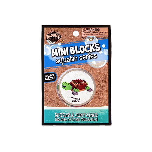 Mini Blocks Turtle Puzzle