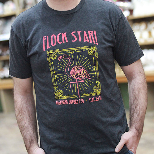 Flamingo Flock Star T-Shirt