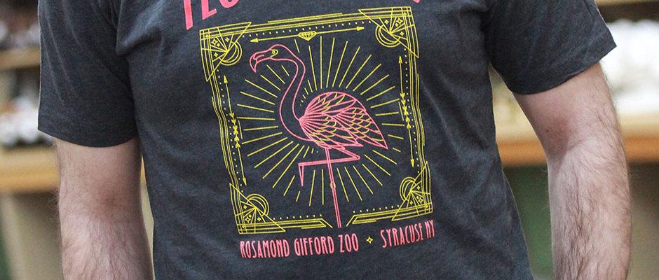 Flamingo Flock Star T-Shirt