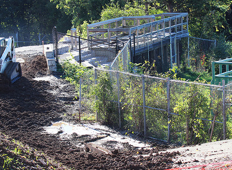Elephant Preserve Expansion and New Public Walkway Underway