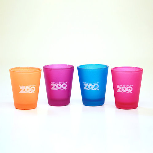 Zoo Neon Shot Glass
