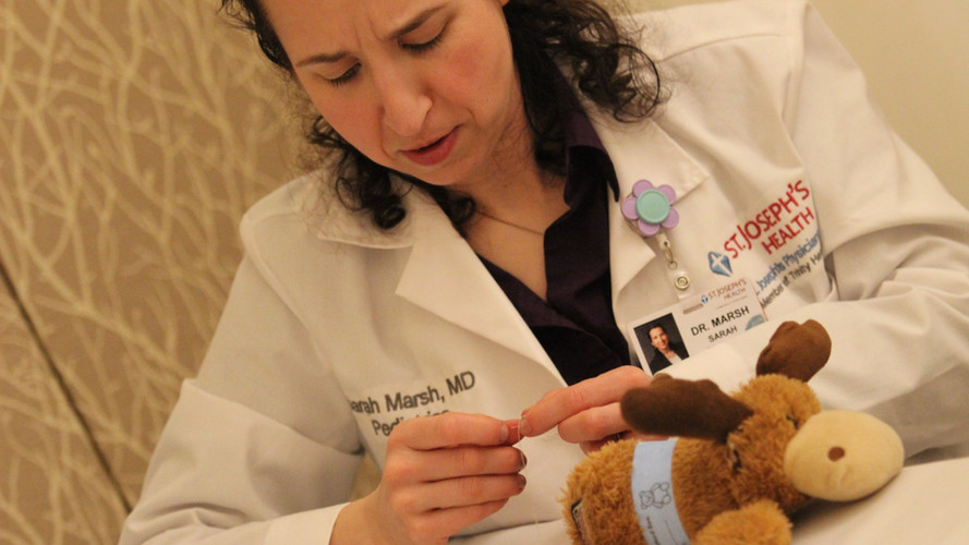 Teddy Bear Clinics Sponsored by St. Joseph's Health