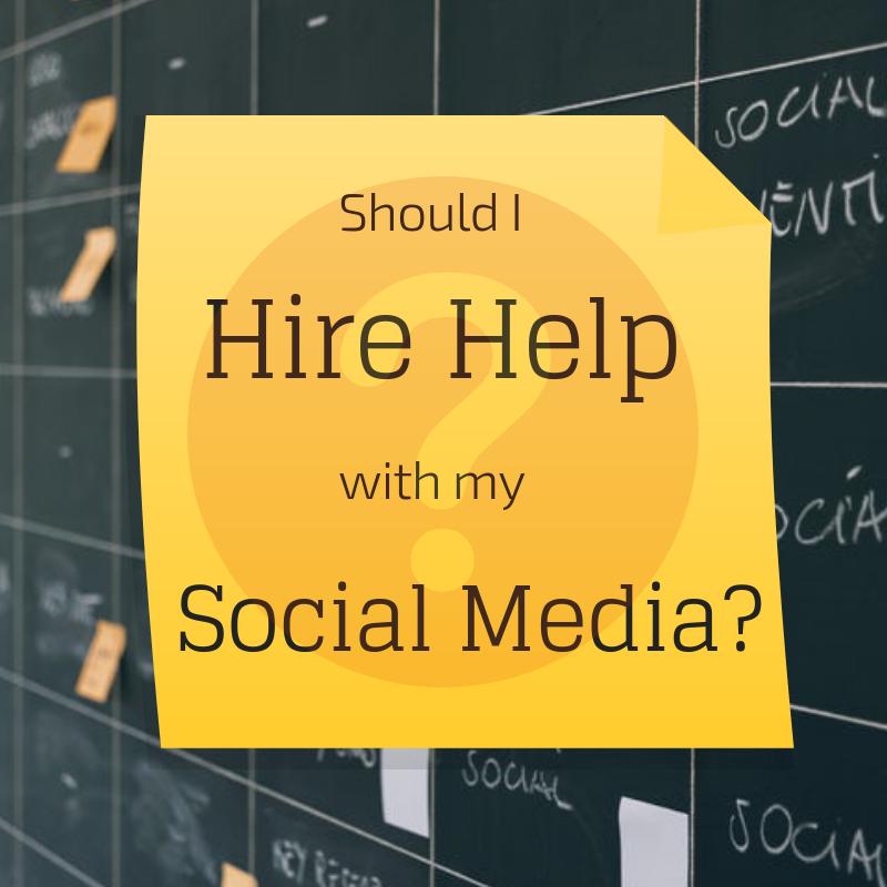 Should I Hire Help with Social Media?