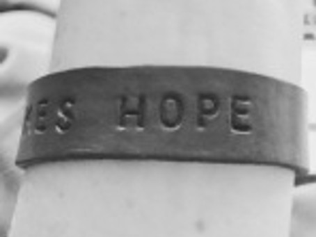 DAY TWENTY: IT TAKES HOPE