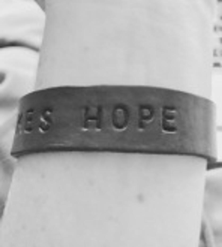 DAY TWENTY: IT TAKES HOPE
