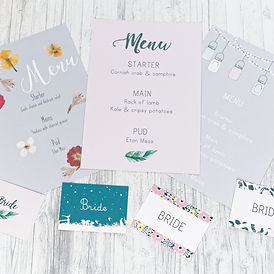 Unique wedding stationery by Happy Paper