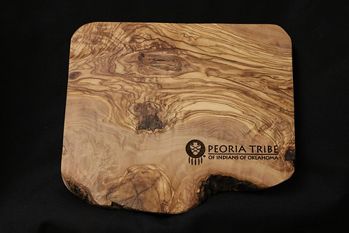 Peoria Olive Wood Cutting Board