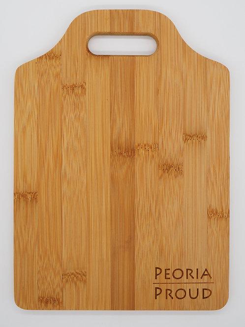 Peoria Proud Bamboo Cutting Board