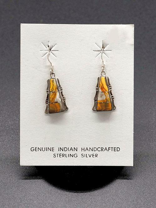 Bumblebee Jasper + Sterling Silver Earrings