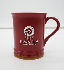 Peoria Proud + Rustic Red Coffee Mug