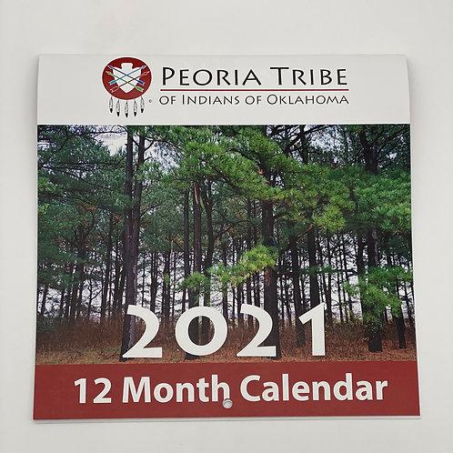 12 - Month 2021 Calendar