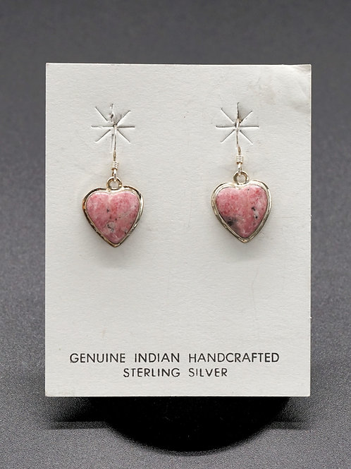 Rodacite + Sterling Silver Earrings