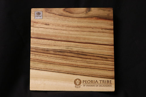 Peoria Tribe Square Cutting Board