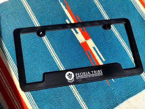 Peoria Tribe Logo Lisence Plate Frame/Cover