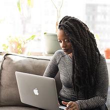 adult-apple-device-beautiful-black-girl-