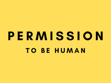 Why Are We Asking For Permission To Be Human?