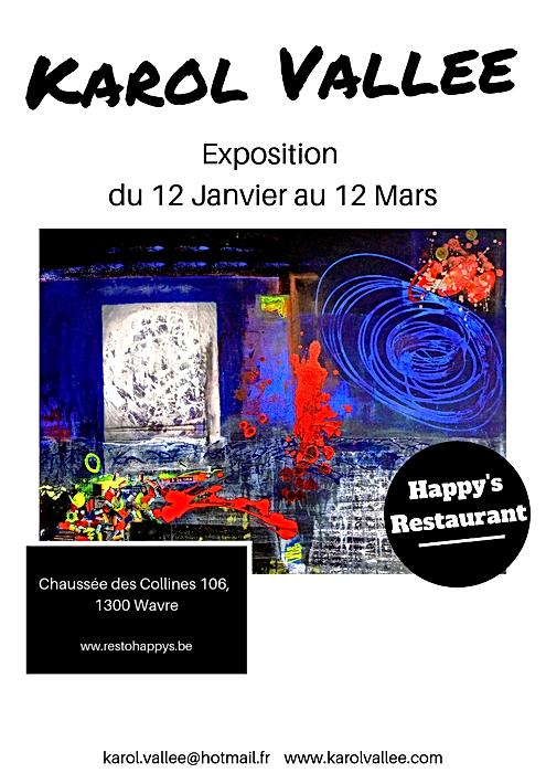 Invitation Exposition Happys petit forma