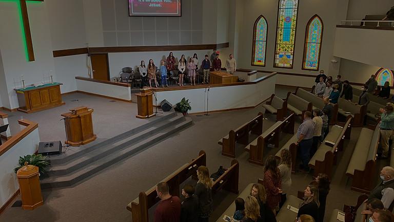 Dedication of New Sanctuary
