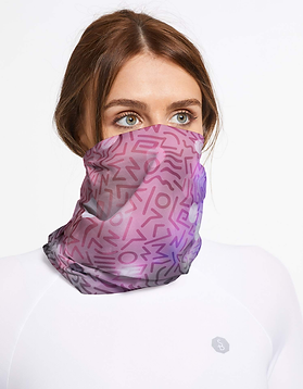 fabric pattern design for face gaiter covering