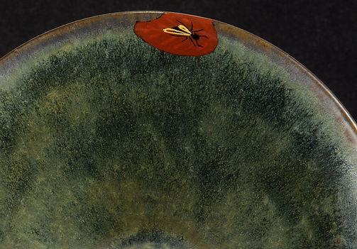 ремонт посуды, кинцуги, kintsugi, пиала, муравей, роспись, керамика, скол