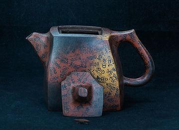 кинцуги, kintsugi, ремонт посуды, искусство, лак уруси, керамика, чайник