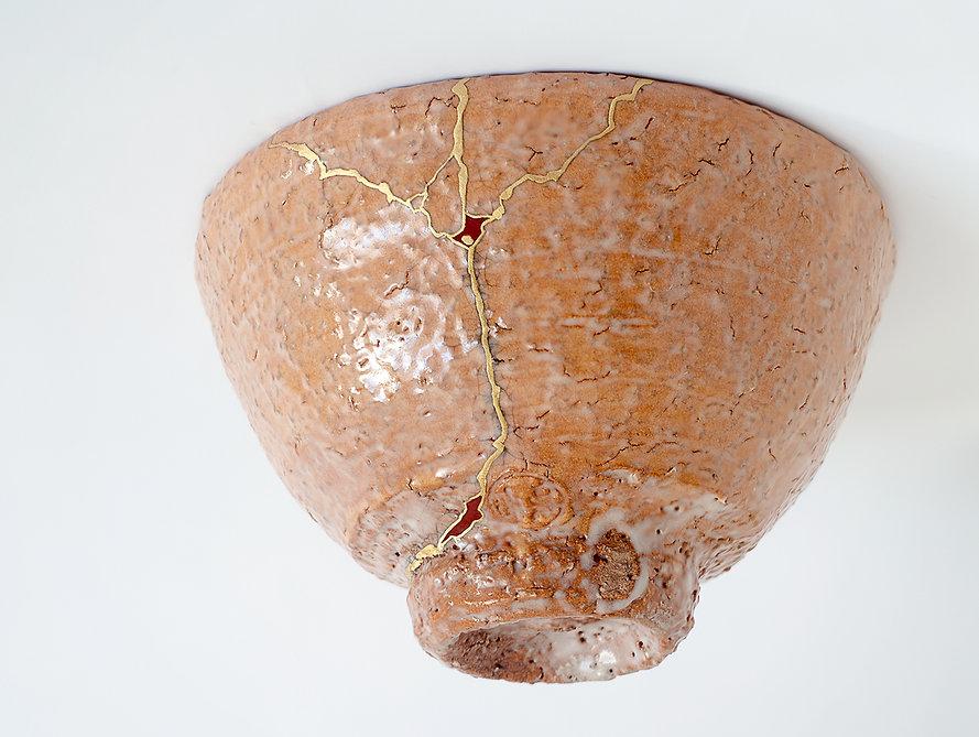 кинцуги золото чаша