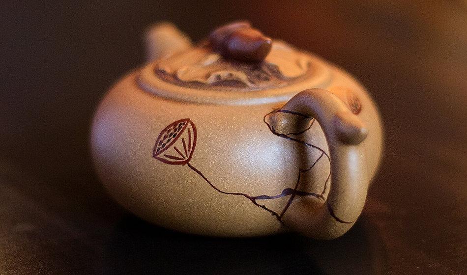 kintsugi, кинцуги, лотос, чайник