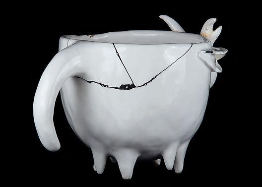 кинцуги, kintsugi, керамика, чашка, ремонт, посуда, лак уруси, мастерская, россия, серебро, черный