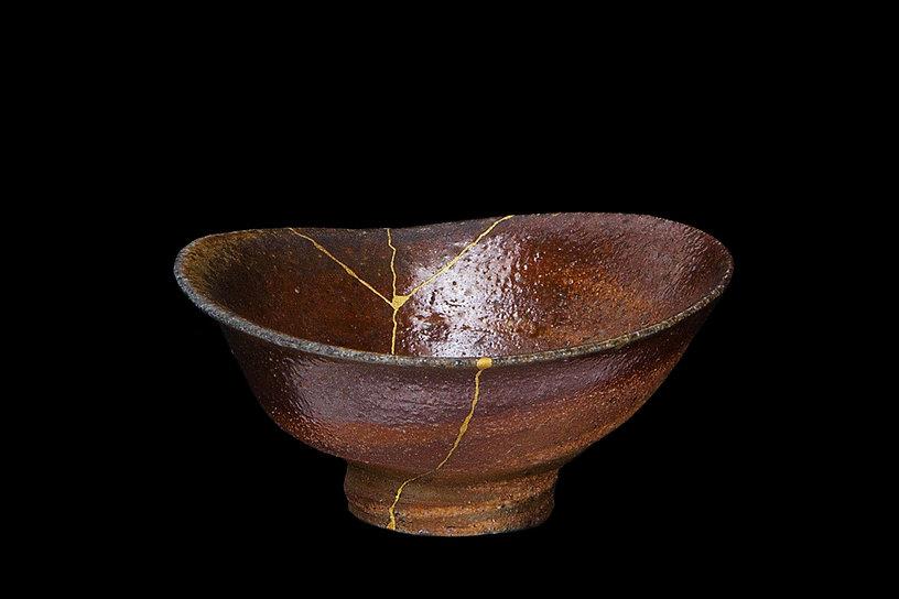 кинцуги, kintsugi, ремонт посуды, искусство, золото, керамика
