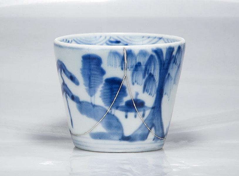 Ремонт посуды, кинцуги, чашка, фарфор, НЛО, серебро, kintsugi, gintsugi