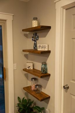 Custom Floating Shelves Friendship, AR