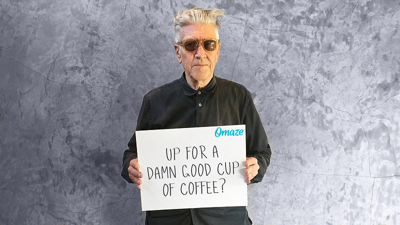 un cafe con david lynch