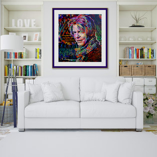 See Artwork on Walls
