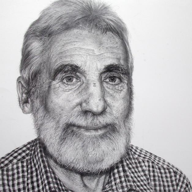 Portrait Study in Grapitie 67 x 56 cm.jp