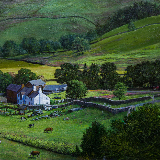 Fellfoot Farm 45x68 cm