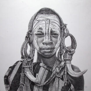 The Boy from the Mursi Tribe, Ethiopia 5