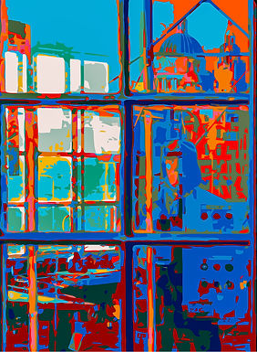 Abstract Vector Impressionism