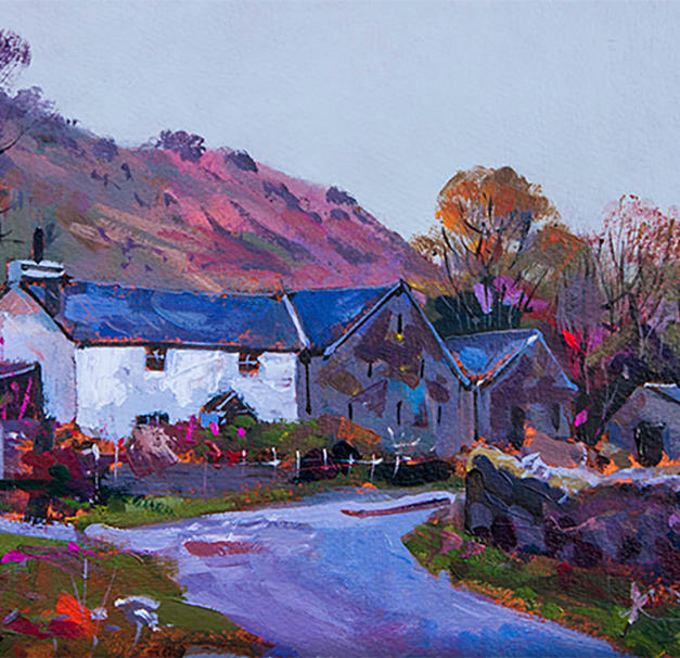 White Cottage in the Lakes