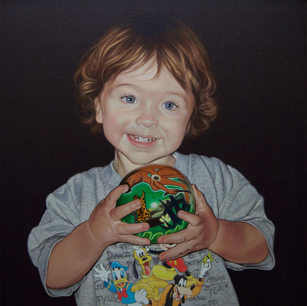 Jack, artists grandson 20x25 inches