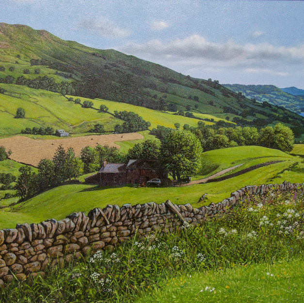 Rolling Hills, the Lake District 45x68