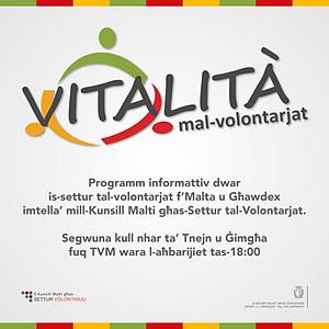 Vitalita' mal-Volontarjat - 2