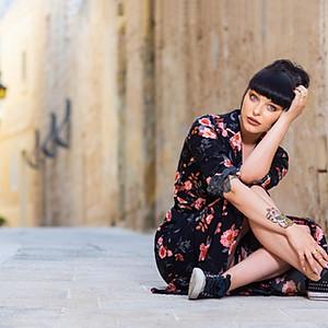 Minja photo-shoot