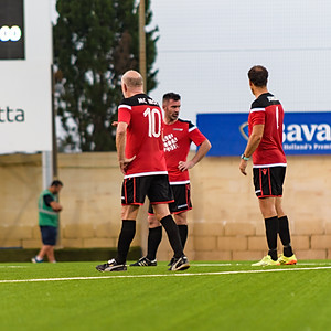 Manchester Reds Legends XI vs Valletta FC - match